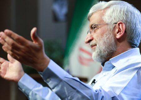 جلیلی: آقای لاریجانی دوازده سال رئیس مجلس بودید؛ برای مبارزه با فساد چه کردید؟/ فعلاً سؤالات آسان را جواب دهید