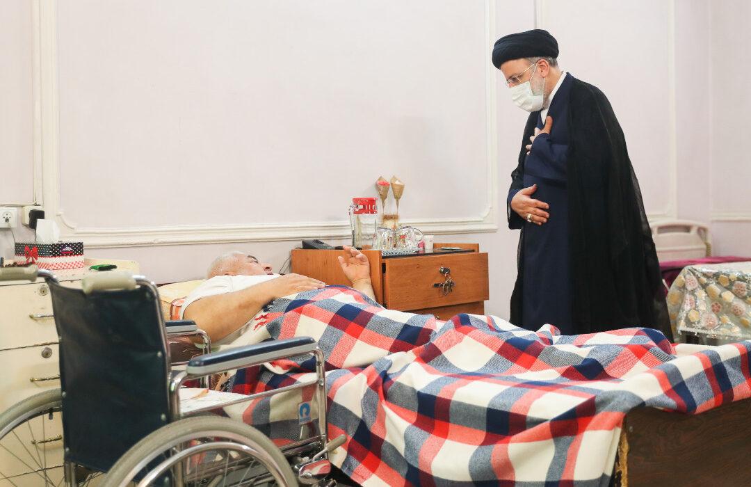 حضور سرزده رئیس جمهور منتخب در آسایشگاه جانبازان امام خمینی(ره) + تصاویر