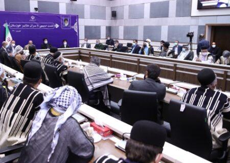 رئیس جمهور در خوزستان پای درد دل عشایر این استان نشست